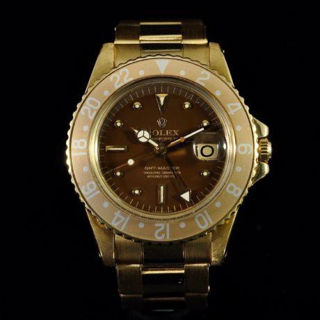 ROLEX GMT REF. 1675 YELLOW GOLD