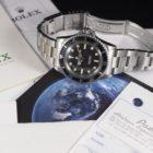 ROLEX SUBMARINER PRE-COMEX REF. 5513 BOX & PAPERS