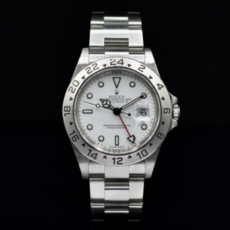 ROLEX EXPLORER II REF. 16570 BOX AND PAPERS