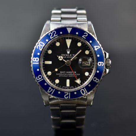 ROLEX GMT-MASTER REF 1675 BLUEBERRY
