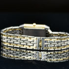 JAEGER LECOULTRE LADY'S REVERSO STEEL AND GOLD REF. 260.5.08