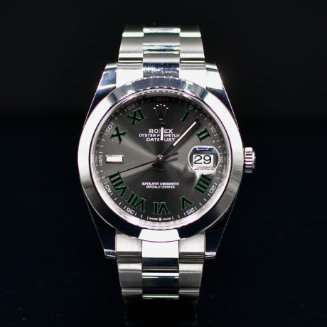 ROLEX DATEJUST WIMBLEDON REF. 126300 FULL SET