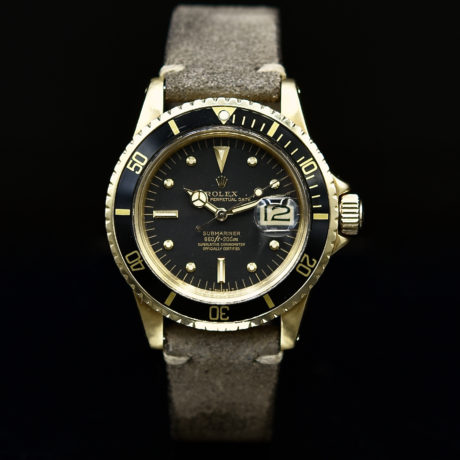 ROLEX SUBMARINER DATE REF. 1680 YELLOW GOLD