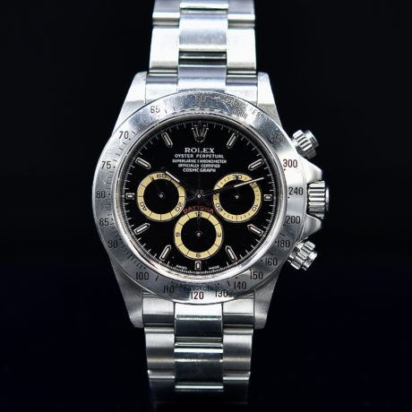 ROLEX DAYTONA REF. 16520 P SERIES TROPICAL REGISTERS BOX & PAPERS