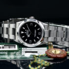 ROLEX EXPLORER 1 REF. 114270 M SERIES WITH PAPERS