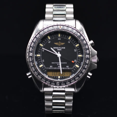 BREITLING NAVITIMER PLUTON REF. A51037 BOX & PAPERS
