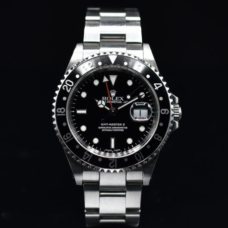 ROLEX GMT MASTER II REF. 16710 WITH PAPERS