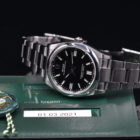 ROLEX OYSTER PERPETUAL REF. 126000 BOX AND PAPERS
