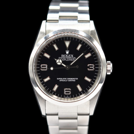 ROLEX EXPLORER REF.14270 WITH PAPERS